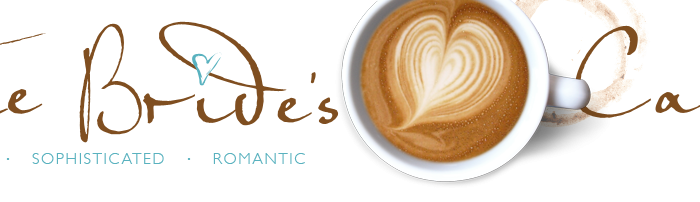 Featured in USA Wedding Blog The Bride's Cafe