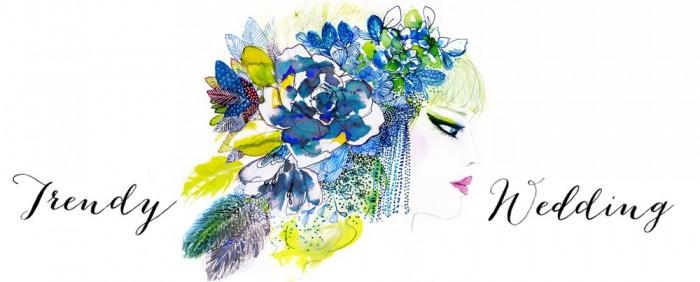 En Vedette dans Trendy Wedding Blog