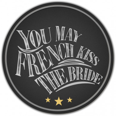 Featured in You May French Kiss The Bride Wedding Blog