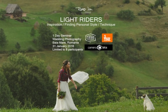 Light Riders 1 Day Seminar Wedding Photography - Baia Mare 31 January 2016