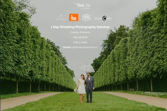 1 Day Seminar Wedding Photography - Craiova, July 5