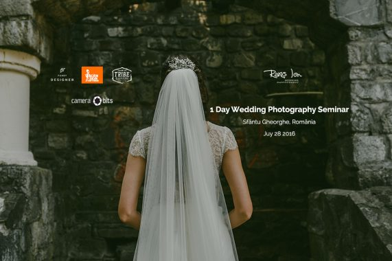 1 Day Wedding Photography Seminar - 28th July, Sfantu Gheorghe, Romania